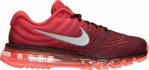 AUTHENTIC Nike Air Max 2017 Night Maroon Wht-Gym Red # 849559 601 Running men