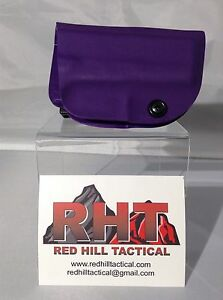 Glock 43 Holster Purple Kydex War Lok OWB
