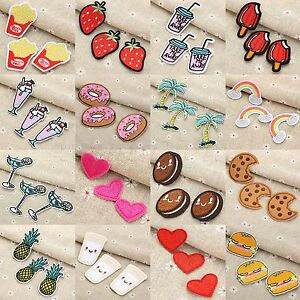 36 Size Embroidered Patches Sewing Jeans Bags Cloth Fabric Hand DIY Craft Access $2.59