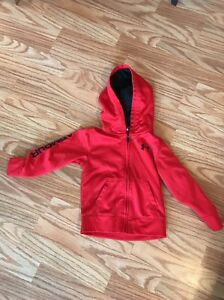 EUC Red Toddler Under Armour Full Zip Hoodie - Size 3T
