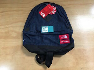SUPREME The North Face Denim Day Backpack Gore Windstopper 3 Layer TNF CDG PCL