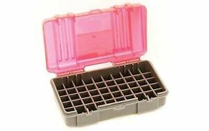 Plano 1224-50 50-Count Small Handgun Ammo Case Fitted for 9mm and .380 Auto
