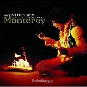 The Jimi Hendrix Experience Live At Monterey Audio CD NEW