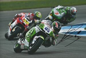 Scott Redding Hand Signed Go&Fun Gresini Honda 12x8 Photo MOTOGP.