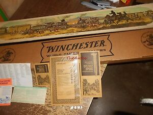 Vintage Winchester Golden Spike Commemorative Model 94 Rifle Box