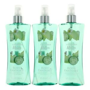 Cucumber Melon Fantasy  3 Pack of 8oz Fragrance Body Spray women
