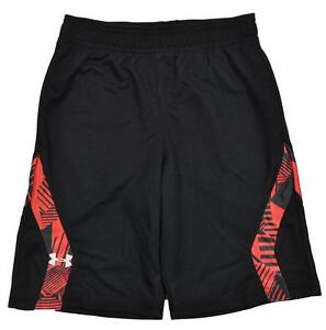 Under Armour Toddler Boys Black & Red Mesh Short Size 2T 3T $24.99
