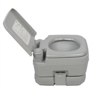 10L Portable Outdoor Camping Toilet Flush Travel Vehicle Potty Indoor Garden