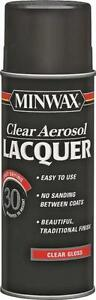NEW MINWAX 1520012 OZ SPRAY GLOSS LACQUER CLEAR WOOD FINISH SEALER 6324107