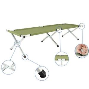 Portable Foldable Camping Bed Army Military Camping Cot Hiking Outdoor Travel