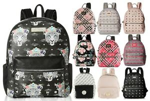 Betsey Johnson Kitsch Stud Medium Travel Luggage Backpack Purse Bookbag Tote Bag