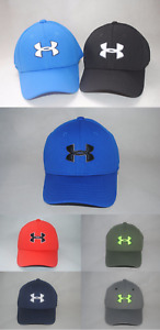 New Under Armour UA Blitzing II Stretch Fit Youth Boys' Golf Cap Hat #1254660