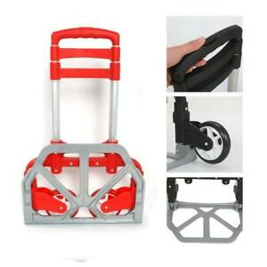 170lbs Cart Folding Dolly Collapsible Trolley Push Hand Truck Moving Warehouse $25.49