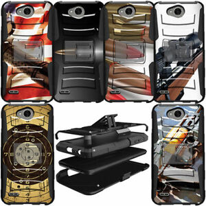 Heavy Duty Hybrid Durable Protective Dual Layer Case for LG Phone Models