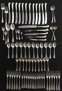 Stieff Williamsburg Queen Anne Sterling Silver 77 Pc AMC Series TURN Used on Set