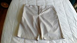 1 NWT ASHWORTH MEN'S GOLF SHORTS SIZE: 34 COLOR: PEBBLE   *B74**