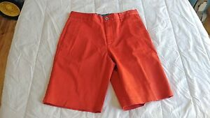 1 NWT ASHWORTH MEN'S GOLF SHORTS SIZE: 34 COLOR: FLARED   *B74**