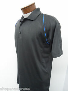 ADIDAS CLIMA COOL POLO SHIRT sz S mens black dri dry fit athletic #3547