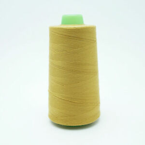 Spun Polyester Sewing Thread Tex 24 5000 Yard Spool Many Colors $3.85