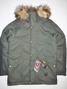 New Under Armour Mens Storm3 ColdGear Reactor Asylum Parka Ski Snowboard Jacket