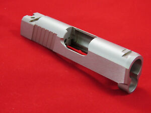 RARE 1911 OFFICER Length TWO-TONE STAINLESS STEEL Slide .45 45 ACP Series 70 80
