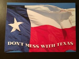 quot;Don#x27;t Mess with Texasquot; collectors postcard