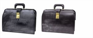 PORTER SHOP ORIGINAL LEATHR DULLES BAG Black or Choco Japan Fashion[710]