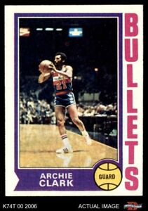 1974 Topps #172 Archie Clark Bullets (Wizards) EXMT