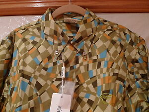 VERSACE SPORT EXTREMELY RARE MEN'S  SHIRT  ITALY SIZE XL