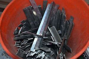 50 Lbs Lead Printer Ludlow Linotype Spacers Casting Reload Slug Casting