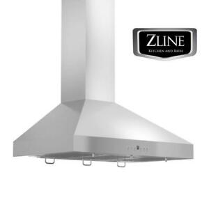 48 NEW ZLINE WALL MOUNT RANGE HOOD kitchen LED STAINLESS STEEL KL3 48