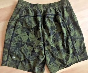LULULEMON Mens Pace Breaker Shorts w Liner 9