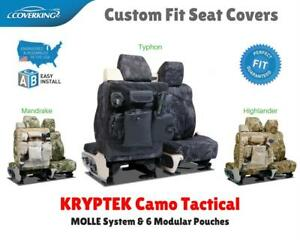KRYPTEK CAMO TACTICAL CUSTOM FIT SEAT COVERS for GMC CK TRUCK