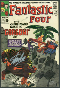 Stan Lee Authentic Signed The Fantastic Four #44 Comic Book Gorgon PSA #6A20922