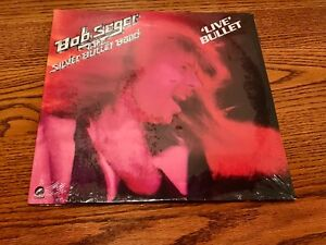 BOB SEGER LIVE BULLET ORIGINAL FIRST PRESS 2-LP SET STILL FACTORY SEALED ~ 1976