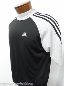 ADIDAS ATHLETIC CASUAL CLIMA LITE T-SHIRT sz S mens workout jersey dry fit#1784
