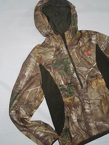 Under Armour wms Scent Control Early Season hunting Hoodie Jacket Large rt $140