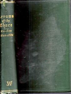 1881 ARROWS OF THE CHACE JOHN RUSKIN LETTERS FIRST EDITION ILLUSTRATED