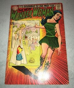 WONDER WOMAN #179 KEY SILVER AGE FIRST I-CHING AND DR CYBER APPEARANCES!