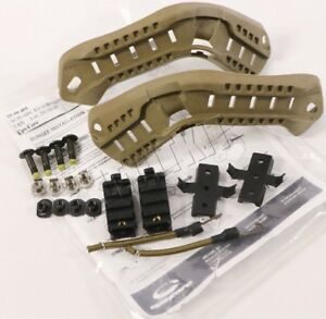 NEW Ops-Core ACH-ARC Rail Kit w Bungees TAN OpsCore MICH ACH Large 25-99-401