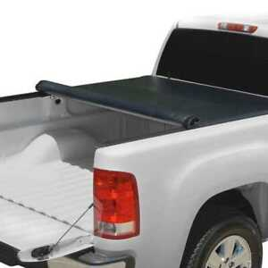 5.6ft Bed Rubber Sealed Lock & Roll Soft Tonneau Cover fits 07-14 Toyota Tundra