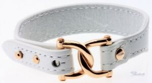 Fossil Jewellery Women's Bracelet Leather Rosé Metal Buckle JF01217791 jf01217