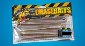 Chasebaits Fork Bait Lures 5quot; Salted amp; Scented