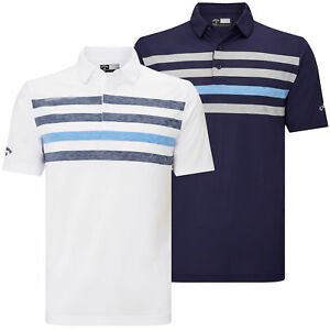 Callaway Golf Mens 2018 Ventilated Chest Opti-Dri Raglan Sleeve Polo Shirt