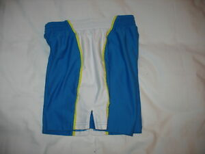 Girls Under Armour UA Loose Shorts Sz XS Athletic Blue White Basketball