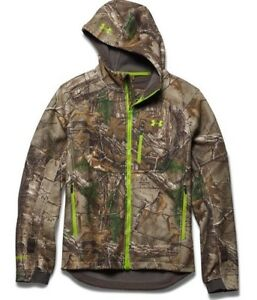 Under Armour Gore Storm Windstopper Realtree Camo Hunting Jacket XL