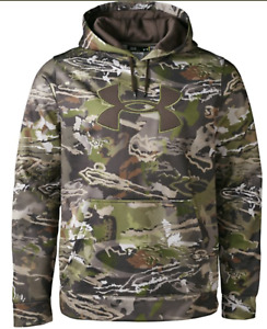 UNDER ARMOUR Hoodie UA Fleece Camo Big Logo Sweatshirt Mens M L XL NWTDEFECT