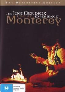 The Jimi Hendrix Experience Live At Monterey DVD R4 New! *