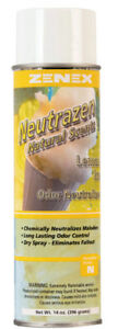 Zenex Neutrazen Citrus Peel Natural Scent Odor Neutralizer 12 Cans Case