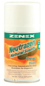 Zenex Neutrazen Citrus Peel Scent Metered Odor Neutralizer 12 Cans Case
